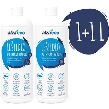 AlzaEco Leštidlo do myčky na nádobí 2× 1 l - Eko leštidlo do myčky