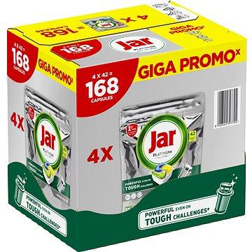 JAR Platinum Lemon GIGA PACK 168 ks - Tablety do myčky
