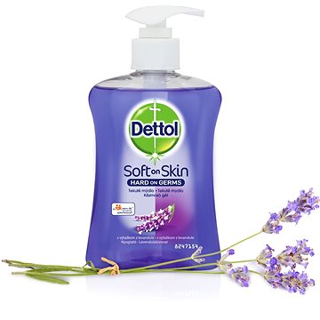 DETTOL Tekuté mýdlo s výtažkem z levandule 250 ml - Tekuté mýdlo