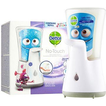 DETTOL Kids Bezdotykový dávkovač mýdla Dobrodruh 250 ml - Dávkovač mýdla