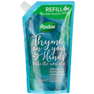 Radox Protect + Replenish tekuté mýdlo náhradní náplň 500ml - Tekuté mýdlo
