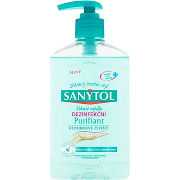 SANYTOL Dezinfekční Mýdlo Purifiant 250 ml - Tekuté mýdlo