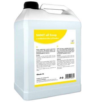 SANIT all Soap s antibakteriální přísadou 5 l - Tekuté mýdlo
