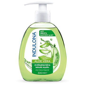 INDULONA Antibakteriální tekuté mýdlo Aloe Vera 300 ml - Tekuté mýdlo