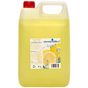 ALLSERVICES Krémové tekuté mýdlo s vůní šťavnatého citronu 5 l - Tekuté mýdlo
