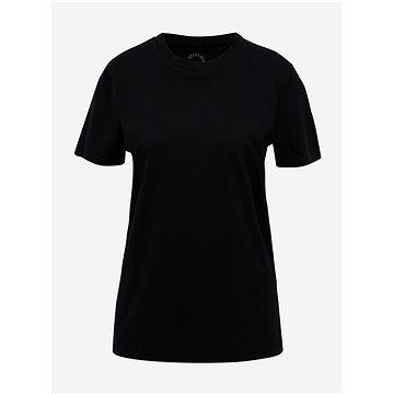 Černé basic tričko Selected Femme My Perfect S - Dámské tričko