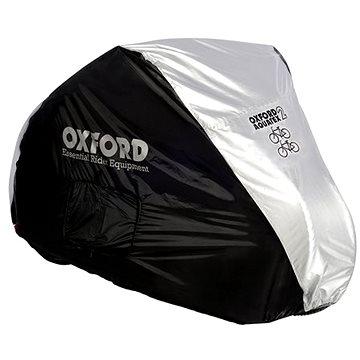 OXFORD Plachta na dvě kola Aquatex(černá/stříbrná) - Plachta na motorku