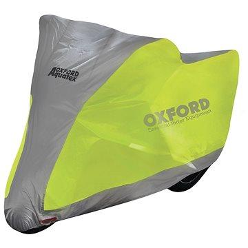 OXFORD Aquatex Fluo Scooter(žlutá fluo/stříbrná, vel. S) - Plachta na motorku