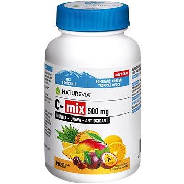 Swiss NatureVia® C-MIX 500mg tbl.90 - Vitamín C
