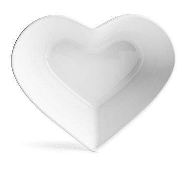 SAGAFORM Miska ForYou Heart 5017848, bílá - Miska