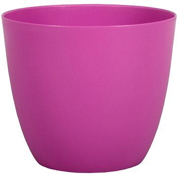 Obal na květník PATRICIE plastový fialovo růžový d11x10cm - Obal na květináč