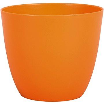 Obal na květník PATRICIE plastový oranžový d11x10cm - Obal na květináč