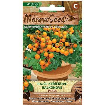 Rajče keříčkové balkónové VENUS, oranžové - Semena