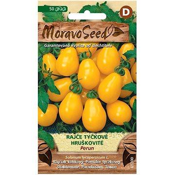 Rajče tyčkové hruškovité PERUN, žluté - Semena