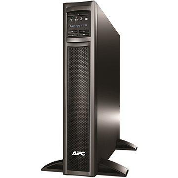 APC Smart-UPS 750 VA pro stojan nebo věž, LCD, 230V se síťovou kartou - Záložní zdroj