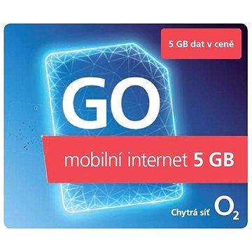 O2 Předplacená karta GO Mobilní Internet 5 GB - SIM karta