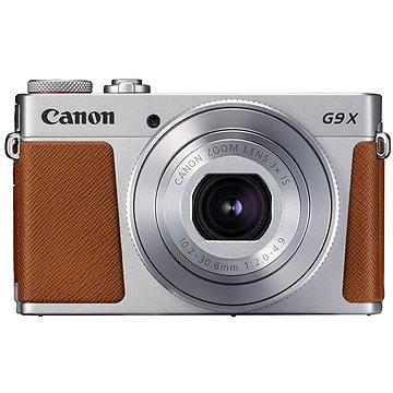 Canon PowerShot G9 X Mark II stříbrný - Digitální fotoaparát