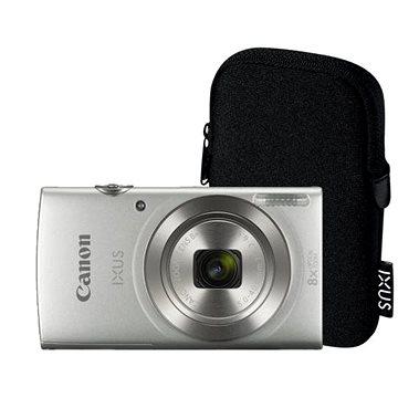 Canon IXUS 185 stříbrný Essential Kit - Digitální fotoaparát