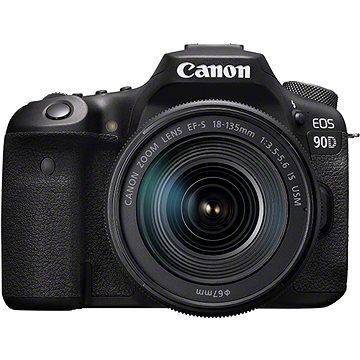 Canon EOS 90D + EF-S 18-135 mm f/3.5-5.6 IS USM - Digitální fotoaparát