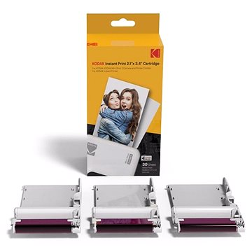 "Kodak Cartridge 2,1x3,4"" 30-pack - Fotopapír"