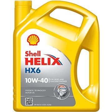 Shell HELIX HX6 10W-40 5l - Motorový olej
