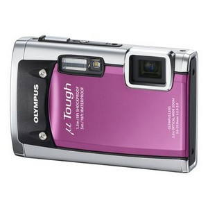 Olympus [mju:] TOUGH-6020 řůžový - Digitální fotoaparát