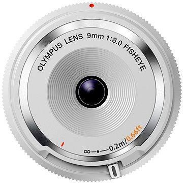M.ZUIKO DIGITAL BCL 9mm f/8.0 rybí oko bílý - Objektiv