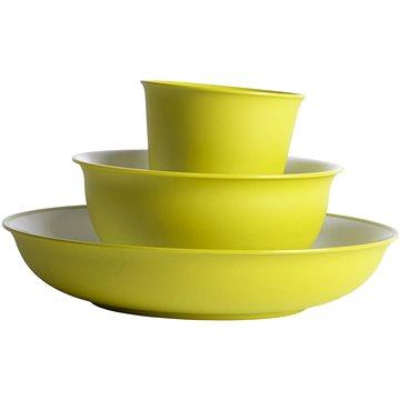Omada Sanaliving Set 3pcs VerdeAcido - Kempingové nádobí