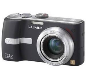 """Panasonic LUMIX DMC-TZ1EG-K černý (black), CCD 6,37 Mpx, 10x zoom, 2.5"""" LCD, Li-Ion, SD/ MMC, stabil - Digitální fotoaparát"""