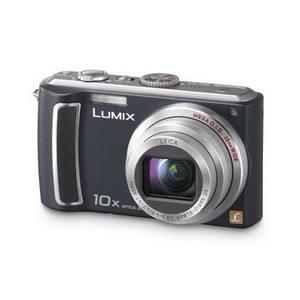Panasonic LUMIX DMC-TZ4E-K černý - Digitální fotoaparát