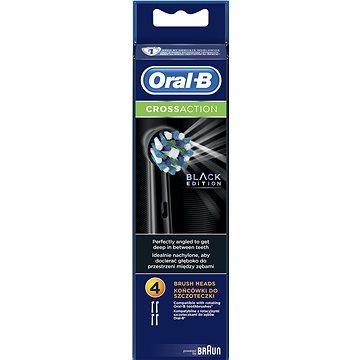 Oral-B náhradní hlavice EB50 CrossAction Black 4ks - Náhradní hlavice