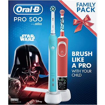 Oral-B Pro 500 + Vitality Star Wars - Elektrický zubní kartáček