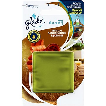 GLADE Discreet Bali Sandalwood&Jasmine 8 g - Osvěžovač vzduchu