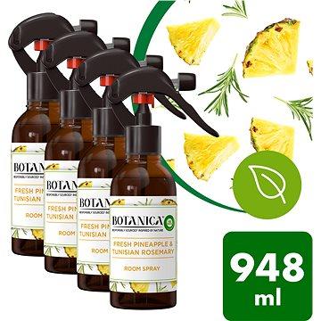 Botanica by Air Wick Svěží ananas a tuniský rozmarýn 4 × 237 ml - Osvěžovač vzduchu