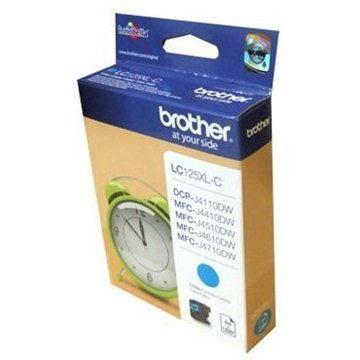 Brother LC-125XLC azurová - Cartridge