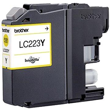 Brother LC-223Y žlutá - Cartridge