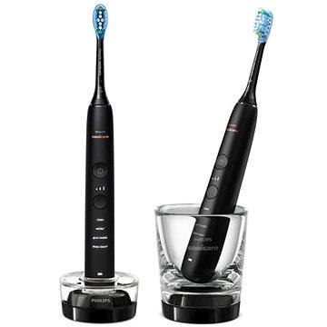 Philips Sonicare DiamondClean Black HX9914/54 nové generace  - Elektrický zubní kartáček