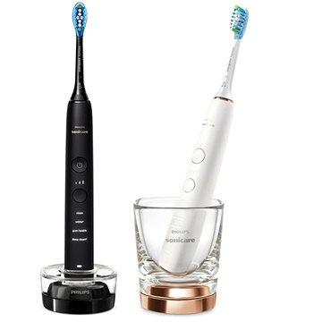Philips Sonicare DiamondClean nové generace Black a Rosegold HX9914/57 - Elektrický zubní kartáček