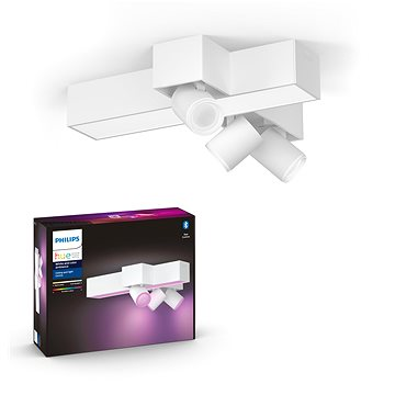 Philips Hue White and Color Ambiance Centris 3L Cross Ceiling Bílá 50608/31/P7 - Stropní světlo