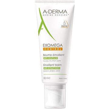 A-DERMA Exomega Control Emolienční balzám pro suchou kůži se sklonem k atopii 200 ml - sterilní kosm - Balzám