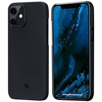Pitaka Air Case Black/Grey iPhone 12 - Kryt na mobil