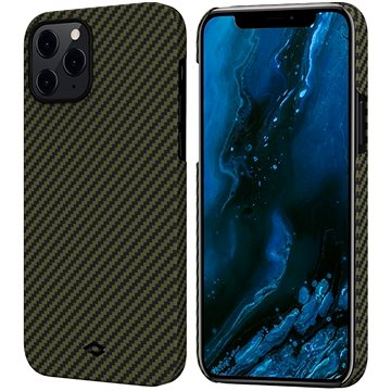 Pitaka MagEZ Black/Yellow iPhone 12 Pro Max - Kryt na mobil