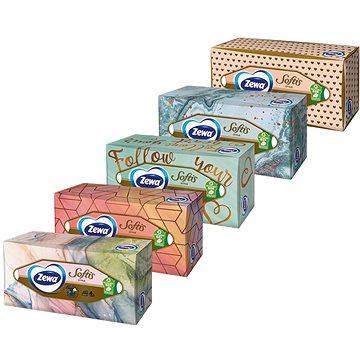 ZEWA Softis Box (80 ks) - Papírové kapesníky