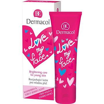 DERMACOL Love My Face Brigthening Care Rasberries & Forst Berries Scent 50 ml - Pleťový krém