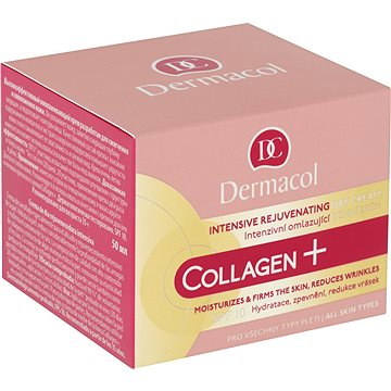 DERMACOL Collagen+ Rejuvenating Day Cream SPF10 50 ml - Pleťový krém