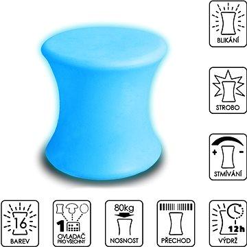 Colour changing Stool  - Taburet