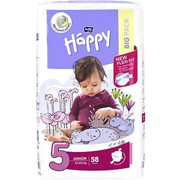 BELLA Baby Happy Junior vel. 5 (58 ks) - Dětské pleny