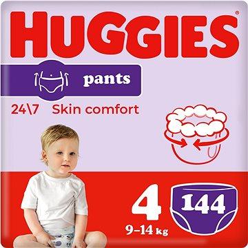 HUGGIES Pants Jumbo vel. 4 (144 ks) - Plenkové kalhotky