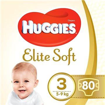 HUGGIES Elite Soft vel. 3 (80 ks) - Dětské pleny