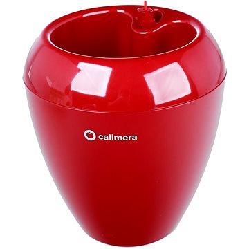 Plastia Calimera průměr 17cm A1 nelakovaný, rubínově červená - Květináč